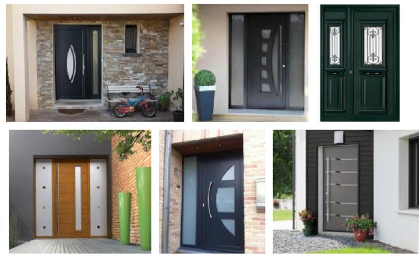 un portail alu pour prot ger votre maison dans la dur e. Black Bedroom Furniture Sets. Home Design Ideas