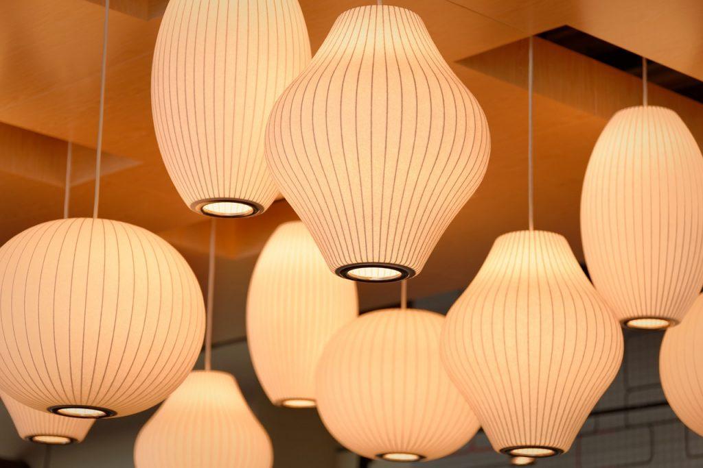 lampes en suspension