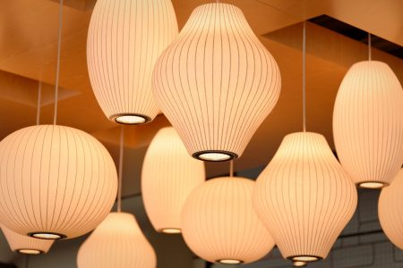 lampes en suspension