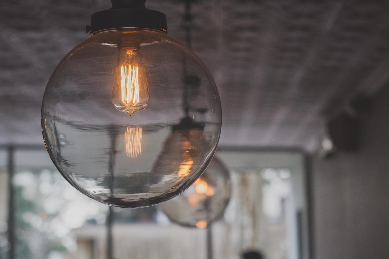 lampes en suspension verre